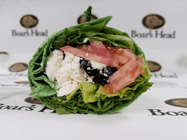 Greek Wrap Sandwich