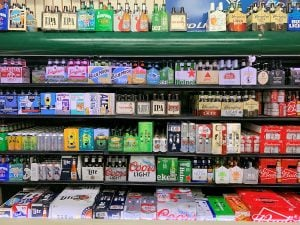 Beer Shelf Display