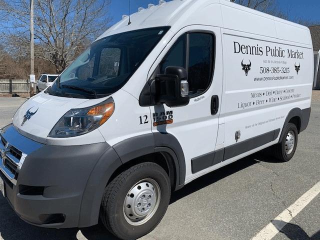 New Dennis Public Market Refrigerator Van